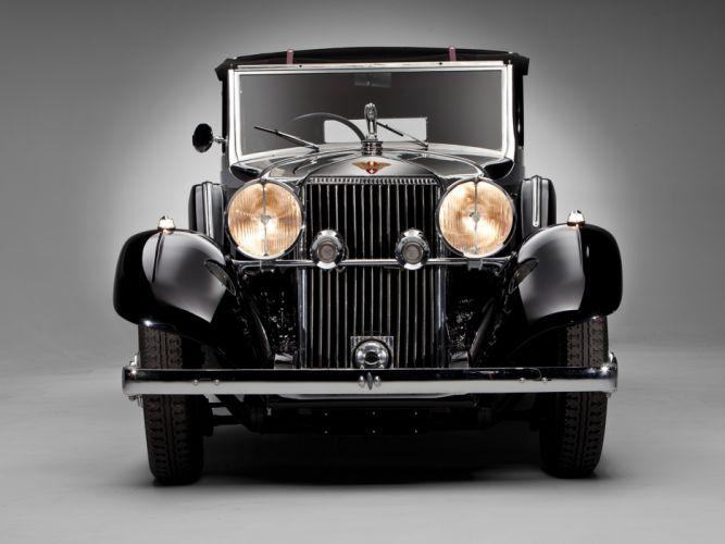 1935 Hispano Suiza J12 Sedanca de Ville luxury retro hs wallpaper