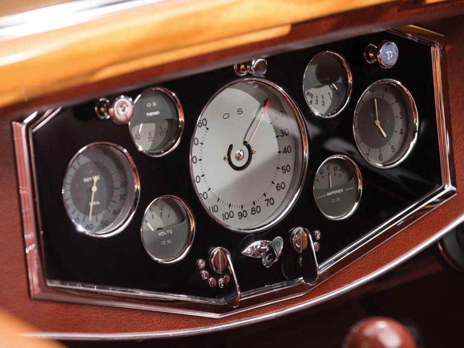 1935 Hispano Suiza K6 Cabriolet by Brandone retro luxury k-6 interior     g wallpaper