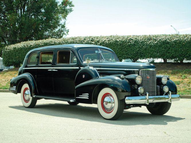 1938 Cadillac V16 Series-90 Sedan by Fleetwood retro luxury g wallpaper