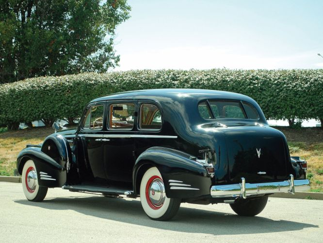 1938 Cadillac V16 Series-90 Sedan by Fleetwood retro luxury fs wallpaper