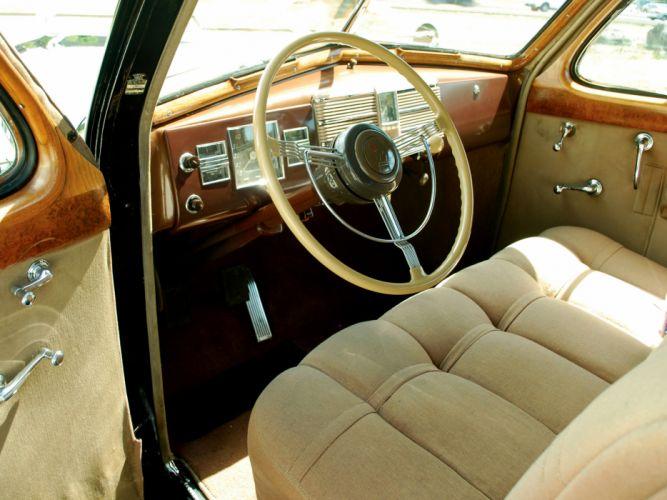 1938 Cadillac V16 Series-90 Sedan by Fleetwood retro luxury interior g wallpaper
