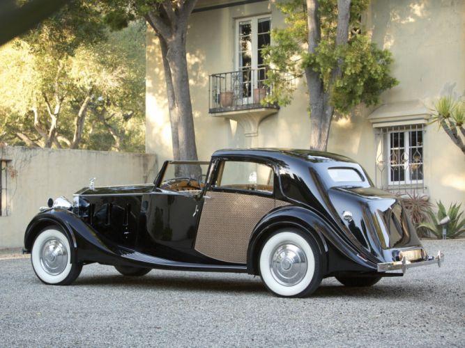 1938 Rolls Royce Phantom III Sedanca de Ville by Park Ward luxury retro f wallpaper