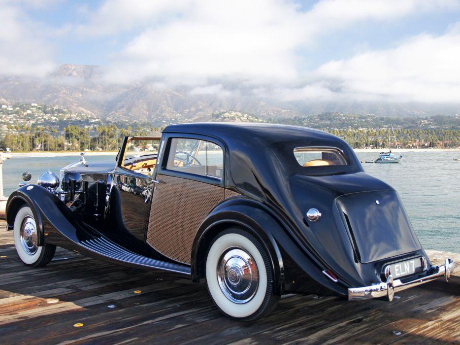 Cars That Start With C >> 1938 Rolls Royce Phantom III Sedanca de Ville by Park Ward luxury retro r wallpaper   2048x1536 ...