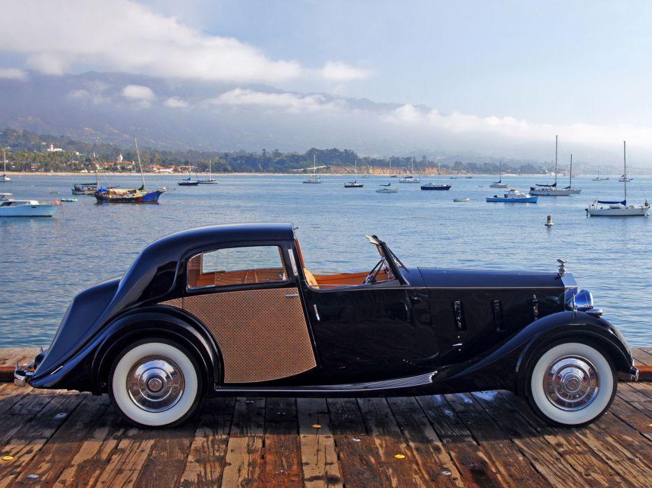 1938 Rolls Royce Phantom III Sedanca de Ville by Park Ward luxury retro  r wallpaper