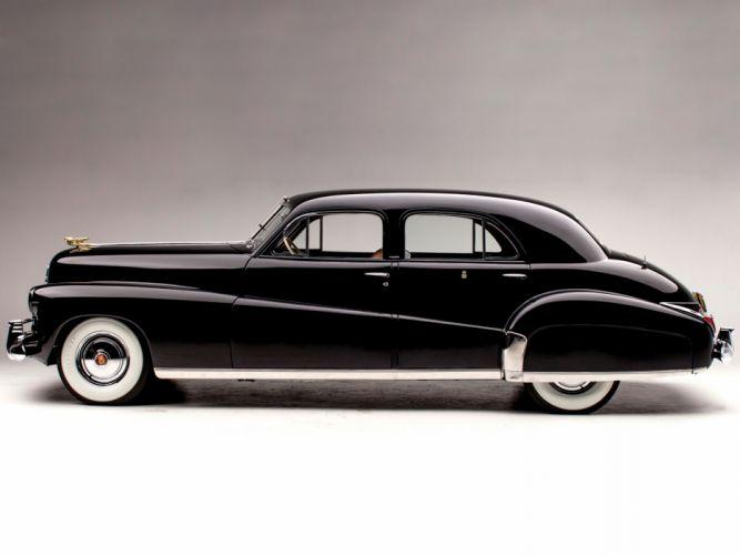 1941 Cadillac Custom Limousine Duchess retro luxury f wallpaper