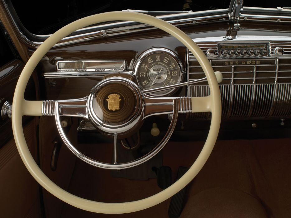 1941 Cadillac Custom Limousine Duchess retro luxury interior        g wallpaper