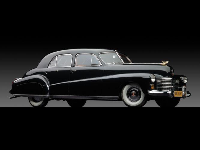 1941 Cadillac Custom Limousine Duchess retro luxury g wallpaper