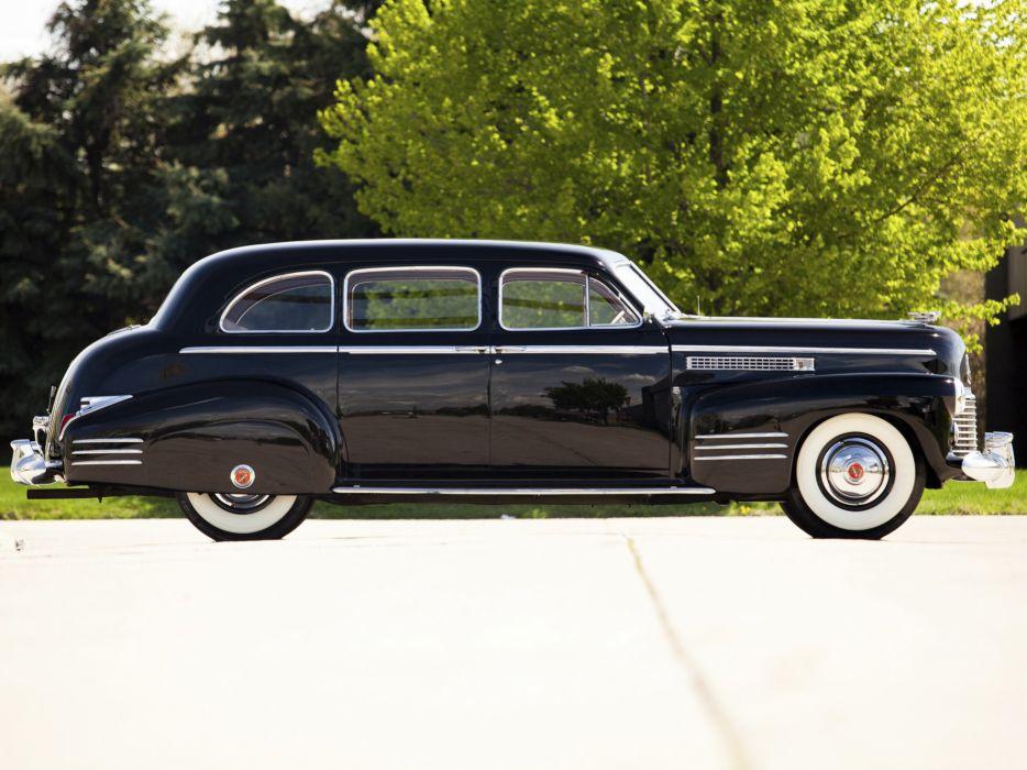 1941 Cadillac Fleetwood Seventy-Five Touring Sedan (41-7519) retro luxury   g wallpaper