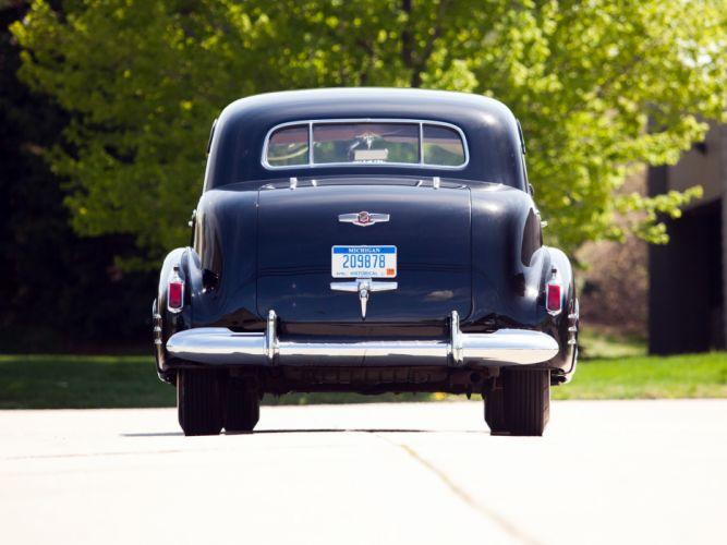 1941 Cadillac Fleetwood Seventy-Five Touring Sedan (41-7519) retro luxury t wallpaper