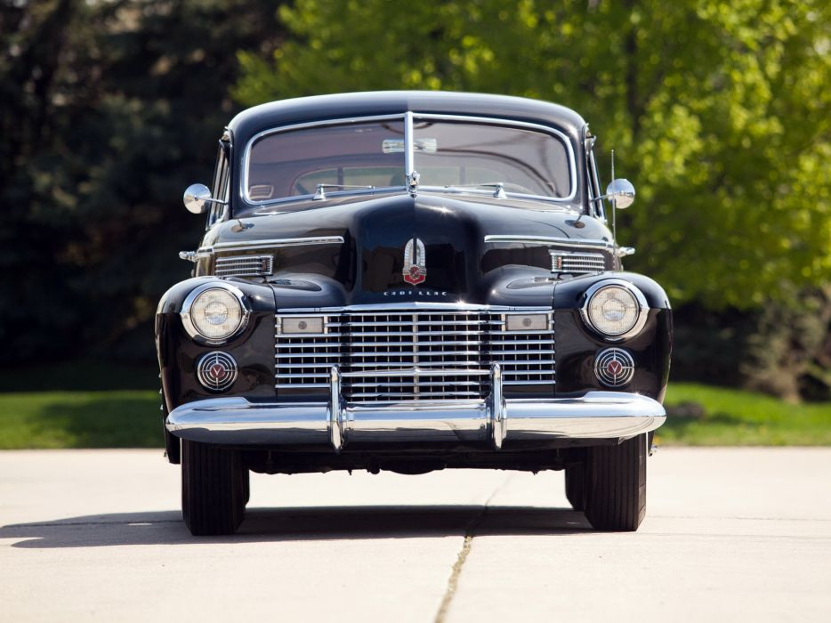 1941 Cadillac Fleetwood Seventy-Five Touring Sedan (41-7519) retro luxury   y wallpaper