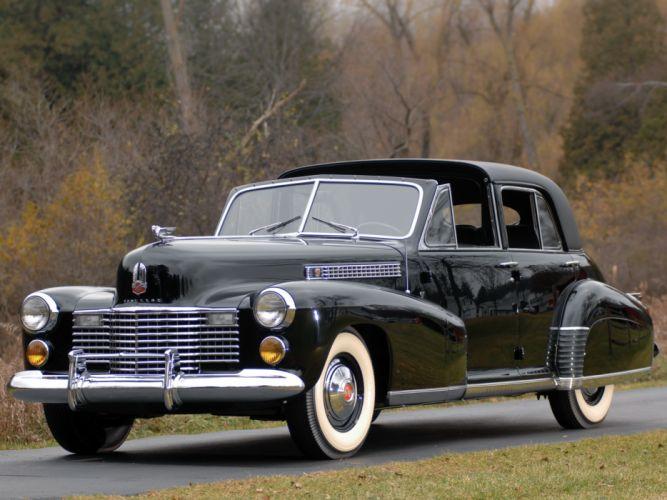 1941 Cadillac Sixty Special TownCar by Derham retro luxury g wallpaper