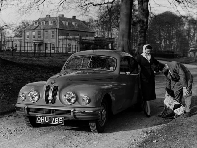 1953 Bristol 403 retro h wallpaper