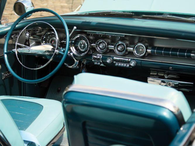 1958 Pontiac Bonneville Custom Convertible (2567SD) retro interior g wallpaper