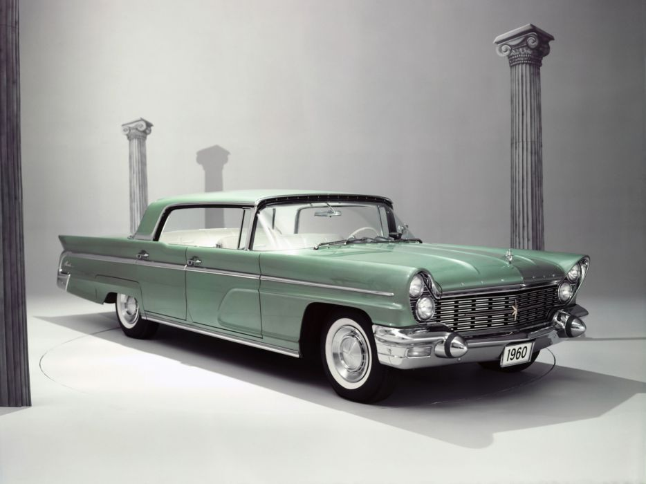 1960 Lincoln Landau 4-door Hardtop (57A) luxury classic        g wallpaper