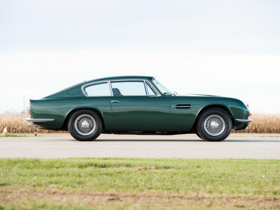 1969 Aston Martin DB6 Vantage (MkII) classic  f wallpaper
