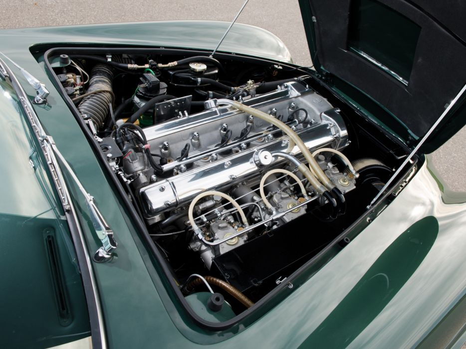 1969 Aston Martin DB6 Vantage (MkII) classic engine      g wallpaper