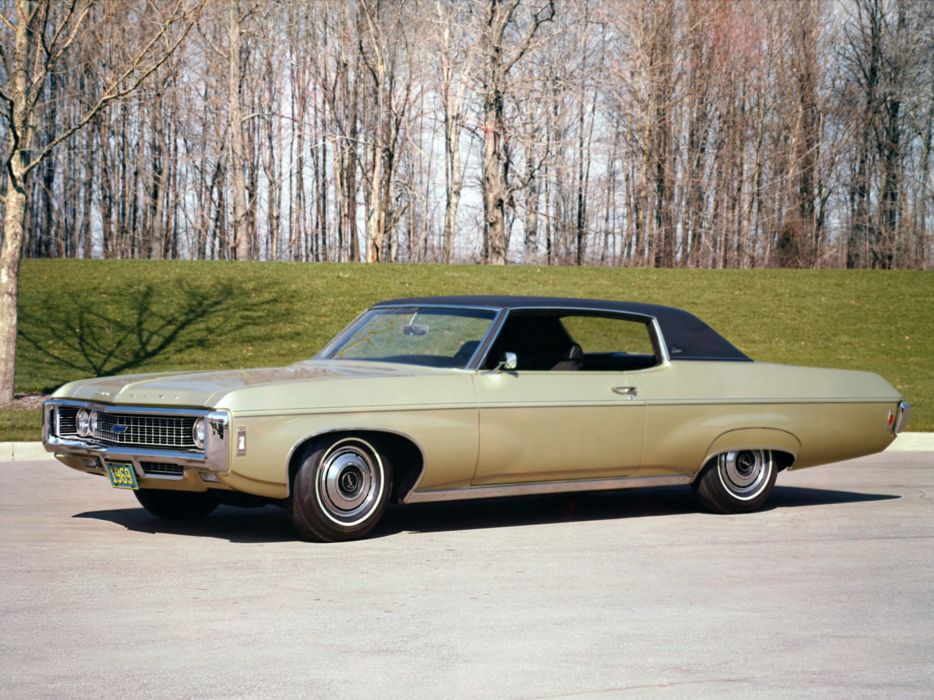 1969 Chevrolet Caprice Formal Top Custom Coupe (47) classic 4-7       h wallpaper