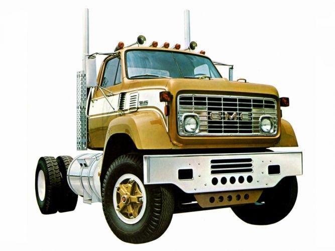 1972 GMC 9500 semi tractor classic g wallpaper