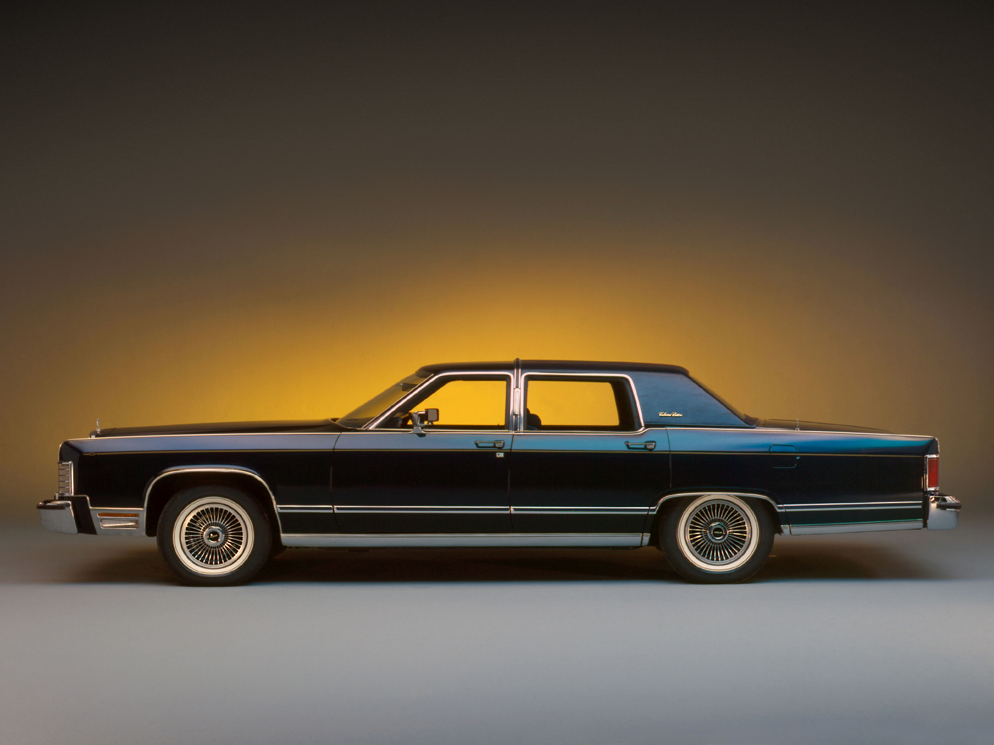 1979 Lincoln Continental Collectors Luxury H Wallpaper