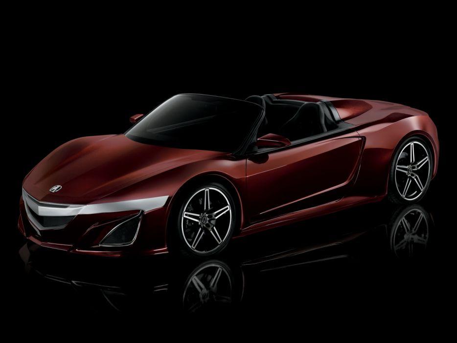 2012 Acura NSX Roadster Concept supercar       g wallpaper