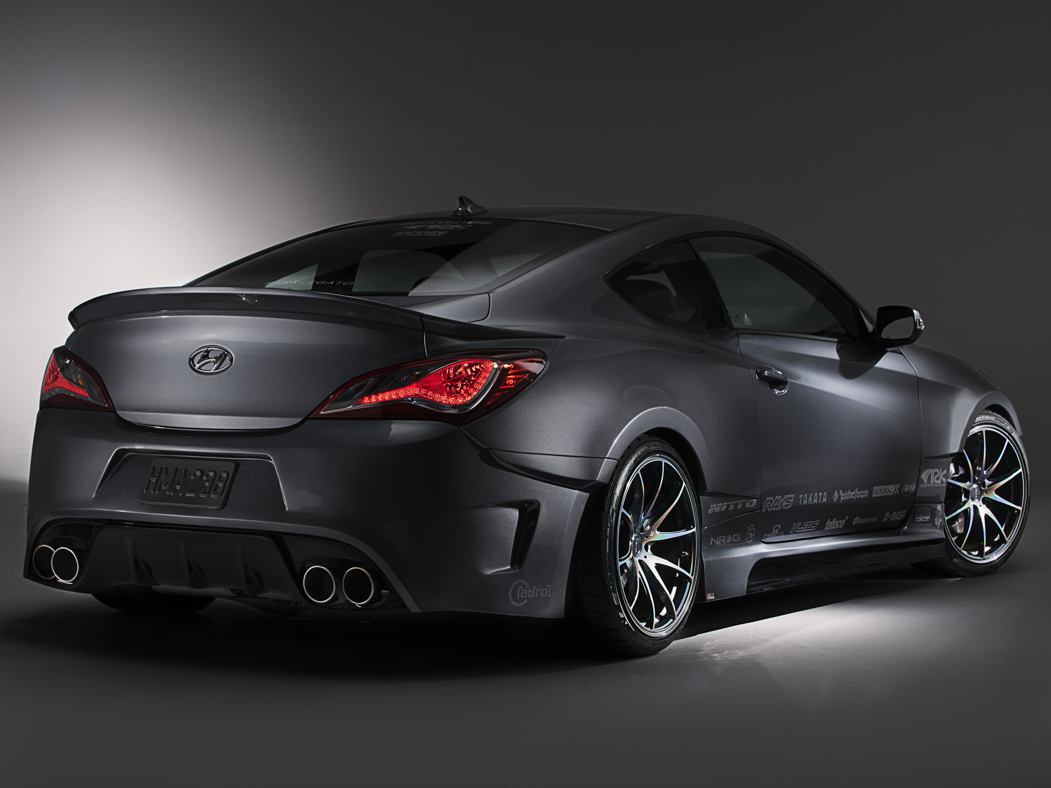 2013 ark performance hyundai genesis coupe legato tuning h. Black Bedroom Furniture Sets. Home Design Ideas