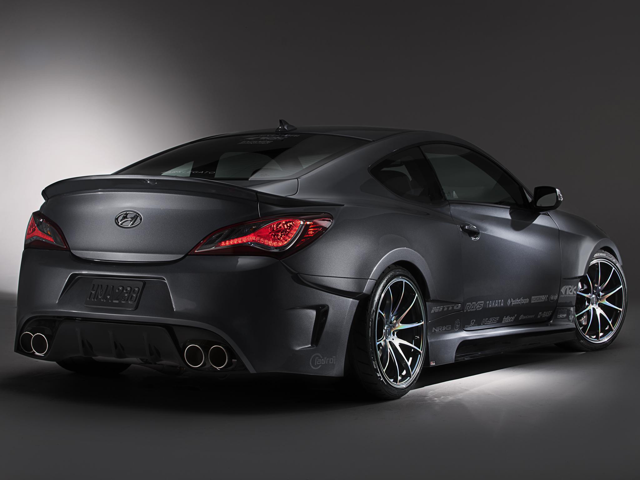 2013 Ark Performance Hyundai Genesis Coupe Legato Tuning H
