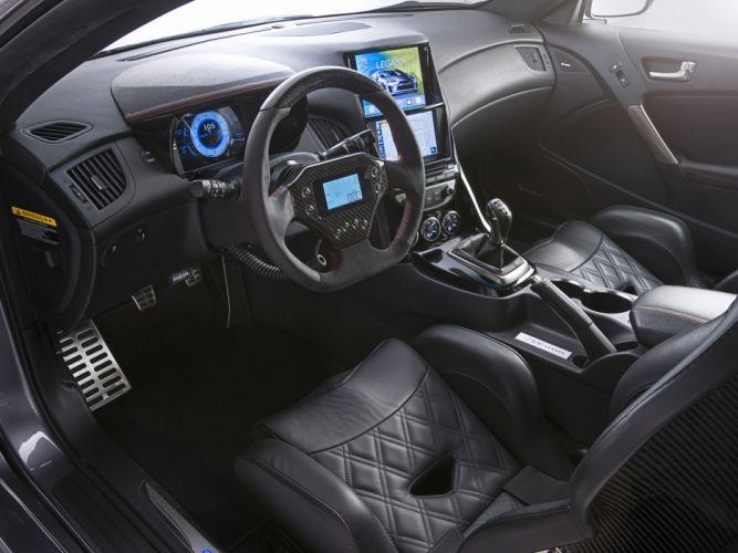 2013 ARK-Performance Hyundai Genesis Coupe Legato tuning interior h wallpaper
