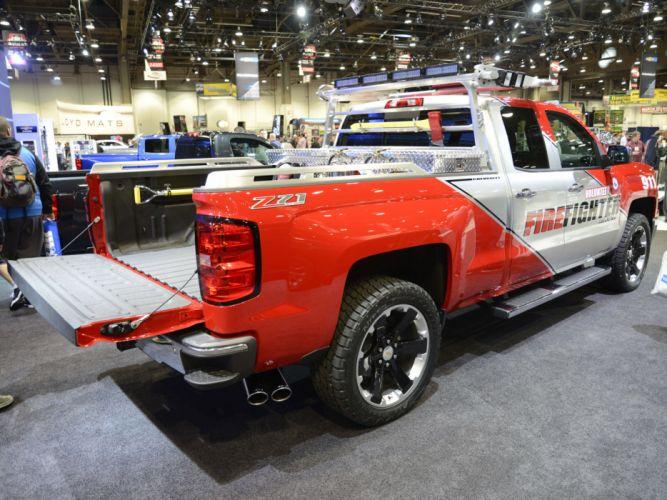 2013 Chevrolet Silverado Volunteer Firefighter Concept firetruck emergency pickup 4x4 f wallpaper
