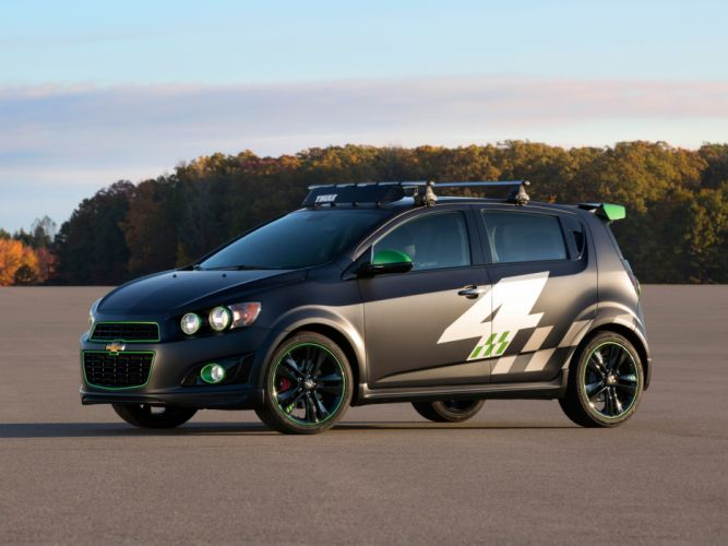 2013 Chevrolet Sonic All-Activity by Ricky Carmichael tuning g wallpaper