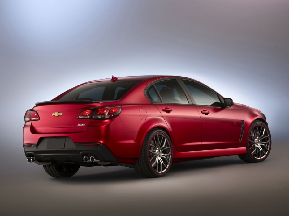 2013 Chevrolet SS by Jeff Gordon tuning muscle s-s   h wallpaper