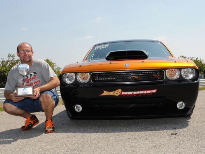 2013 Dodge Challenger Mopar Knox County Driller muscle drag racing race hot rod rods f wallpaper