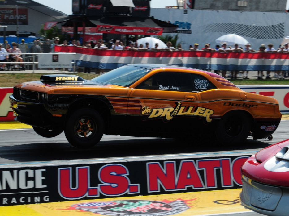 2013 Dodge Challenger Mopar Knox County Driller muscle drag racing race hot rod rods   e wallpaper