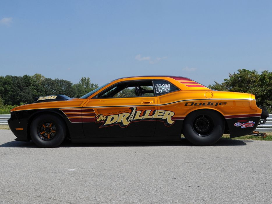 2013 Dodge Challenger Mopar Knox County Driller muscle drag racing race hot rod rods    g wallpaper