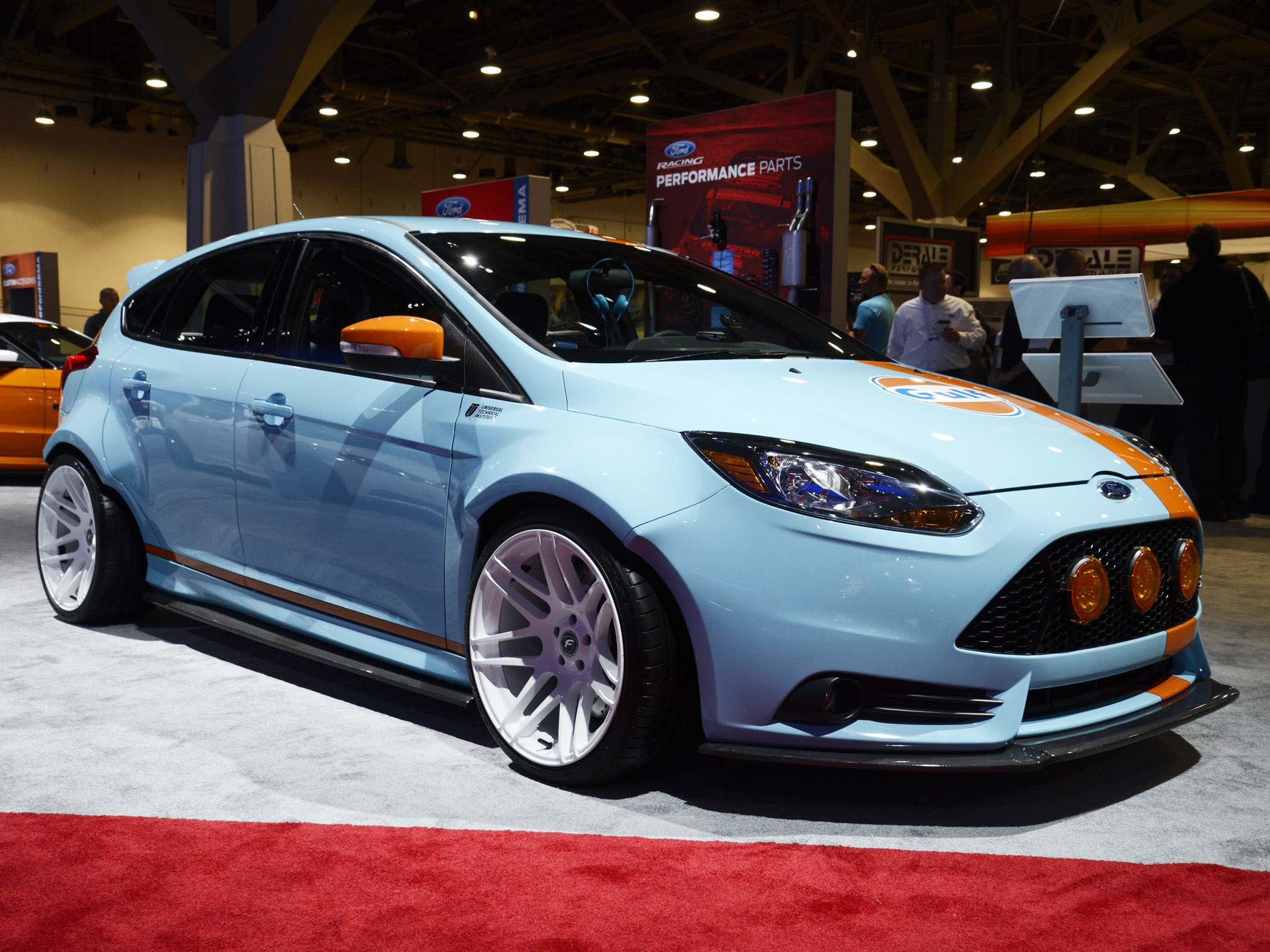 2013 ford focus st gulf racing race tuning s t g wallpaper 2048x1536 170896 wallpaperup. Black Bedroom Furniture Sets. Home Design Ideas