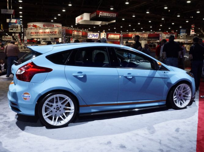 2013 Ford Focus ST Gulf Racing race tuning s-t r wallpaper