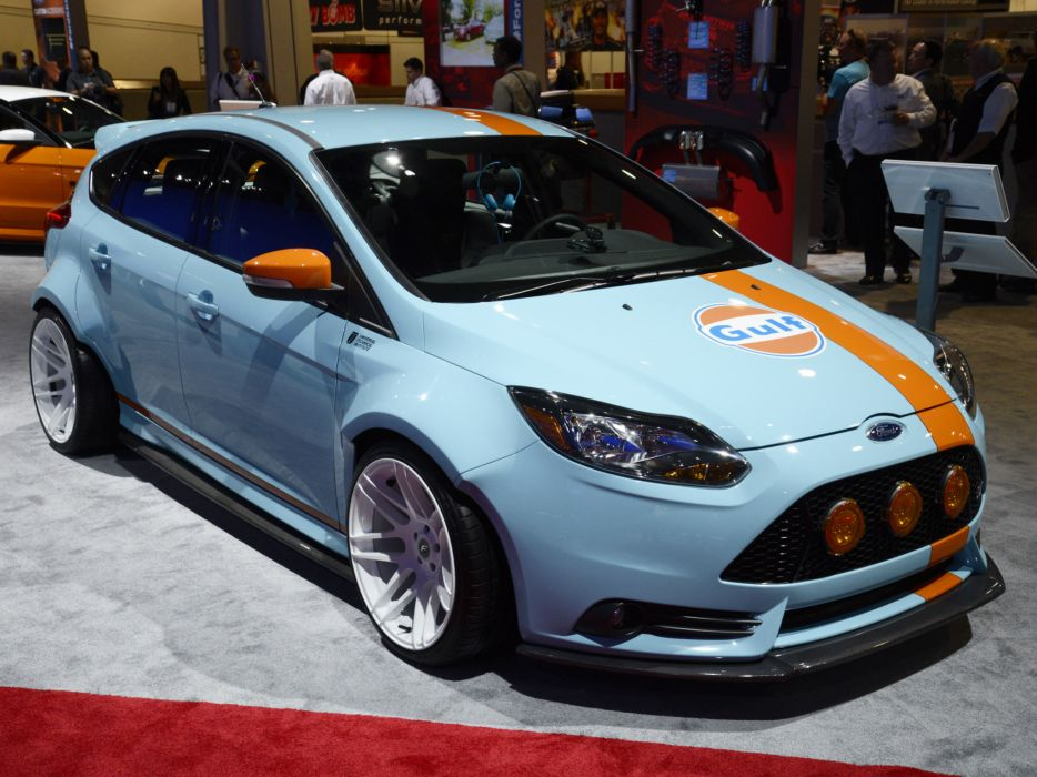 2013 Ford Focus ST Gulf Racing race tuning s-t     g wallpaper