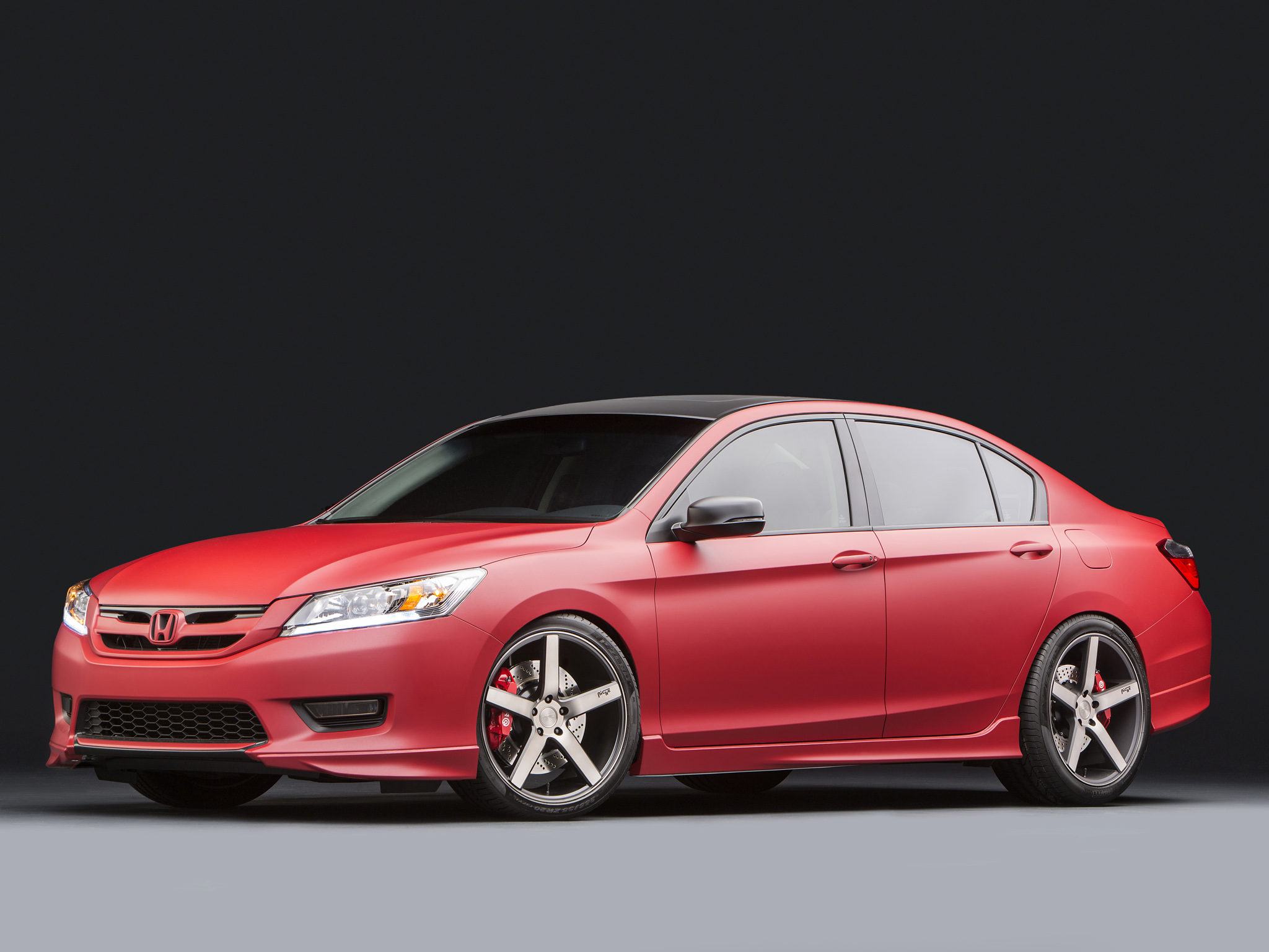 2013 honda accord by mad industries tuning h wallpaper. Black Bedroom Furniture Sets. Home Design Ideas