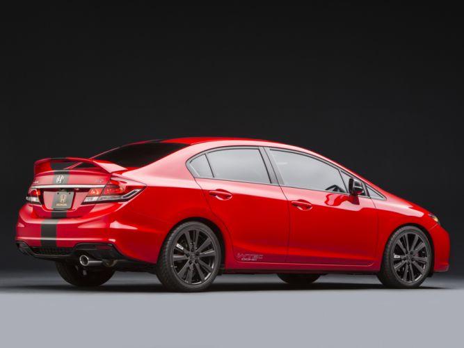 2013 Honda Civic Si Sedan SEMA Project f wallpaper