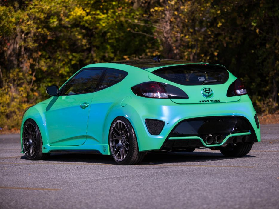 2013 Hyundai Veloster Turbo by Fox-Marketing tuning  d wallpaper