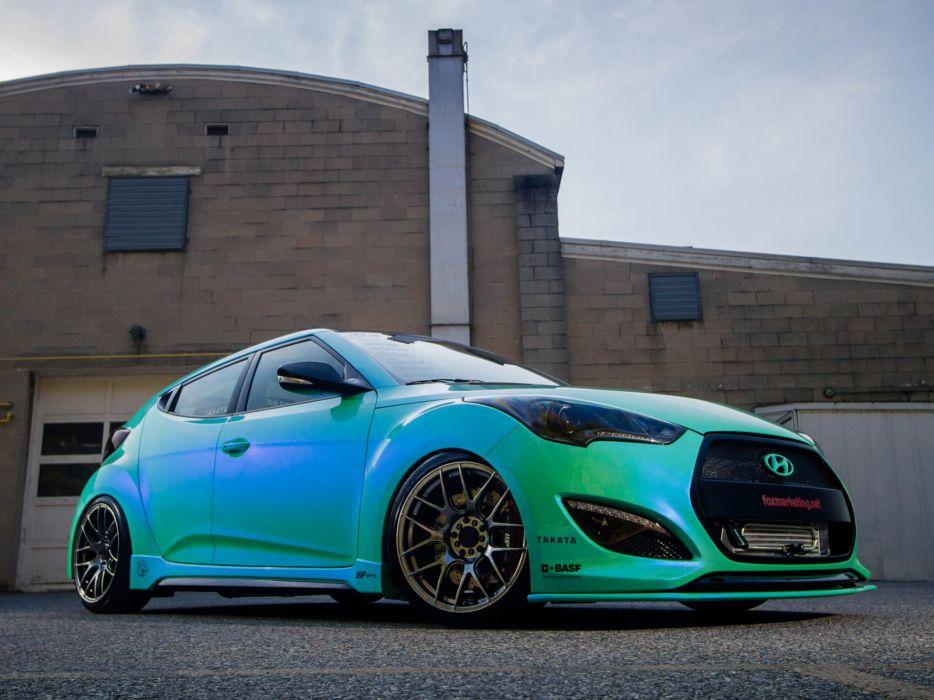 2013 Hyundai Veloster Turbo by Fox-Marketing tuning  ds wallpaper