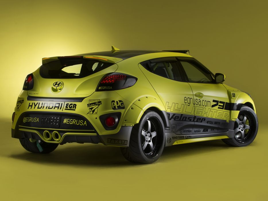 2013 Hyundai Veloster Turbo Night Racer by EGR tuning   g wallpaper