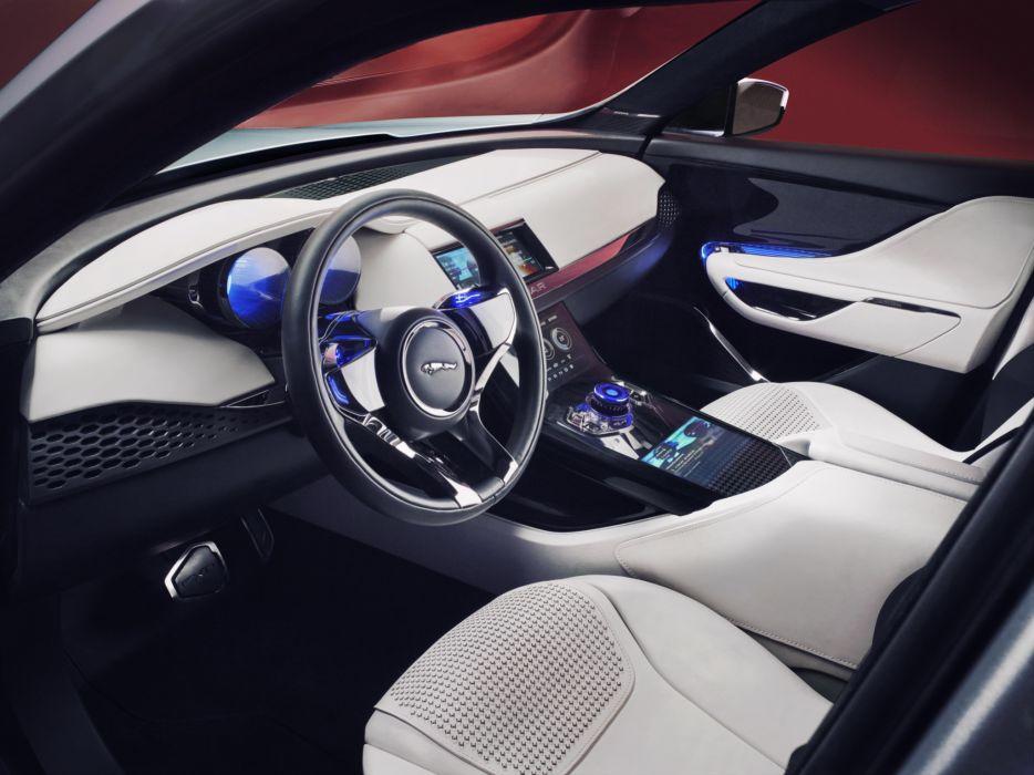 2013 Jaguar C X17 Concept Suv Interior D Wallpaper