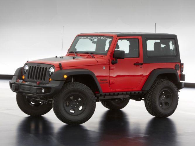 2013 Jeep Wrangler Slim Concept (JK) mopar 4x4 muscle j-k suv rf wallpaper
