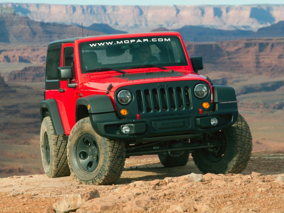 2013 Jeep Wrangler Slim Concept (JK) mopar 4x4 muscle j-k suv  e wallpaper