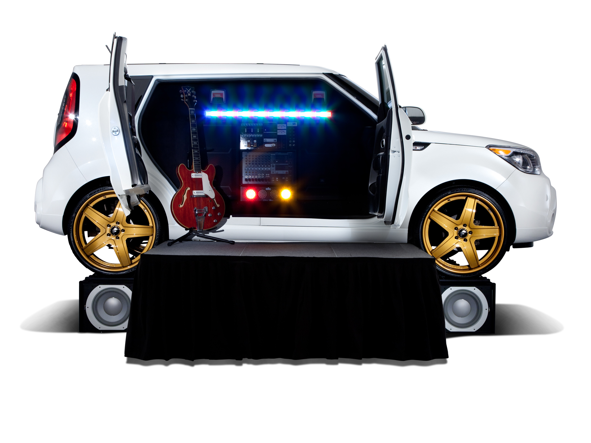 2013 kia amped soul suv tuning speaker guitar g wallpaper. Black Bedroom Furniture Sets. Home Design Ideas