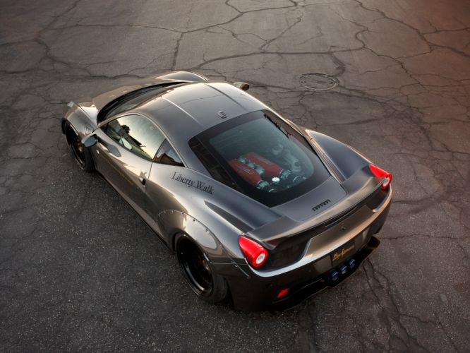 2013 LB-Performance Ferrari 458 Italia supercar tuning engine g wallpaper