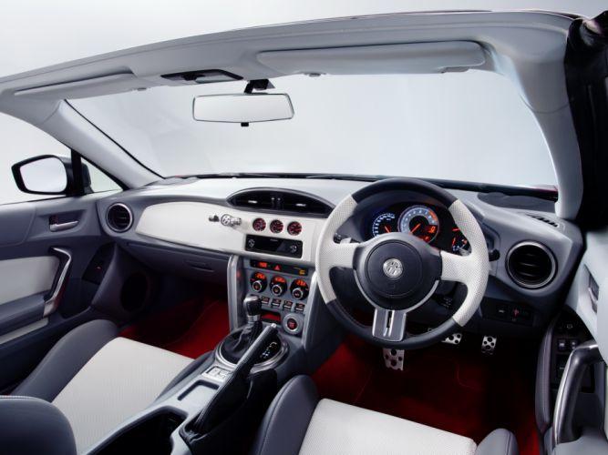 2013 Toyota FT-86 Open Concept JP-spec convertible interior f wallpaper