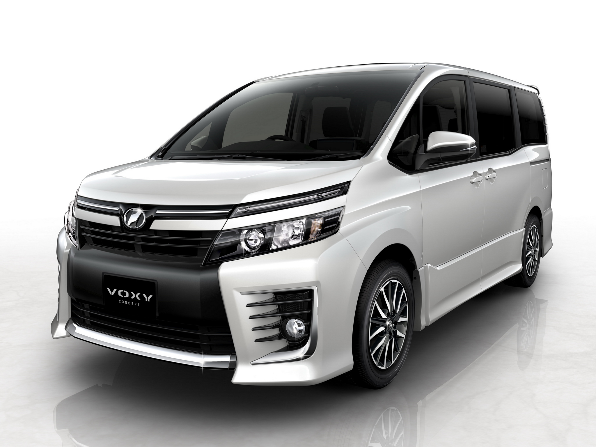 Toyota Voxy Concept Suv Van F Wallpaper