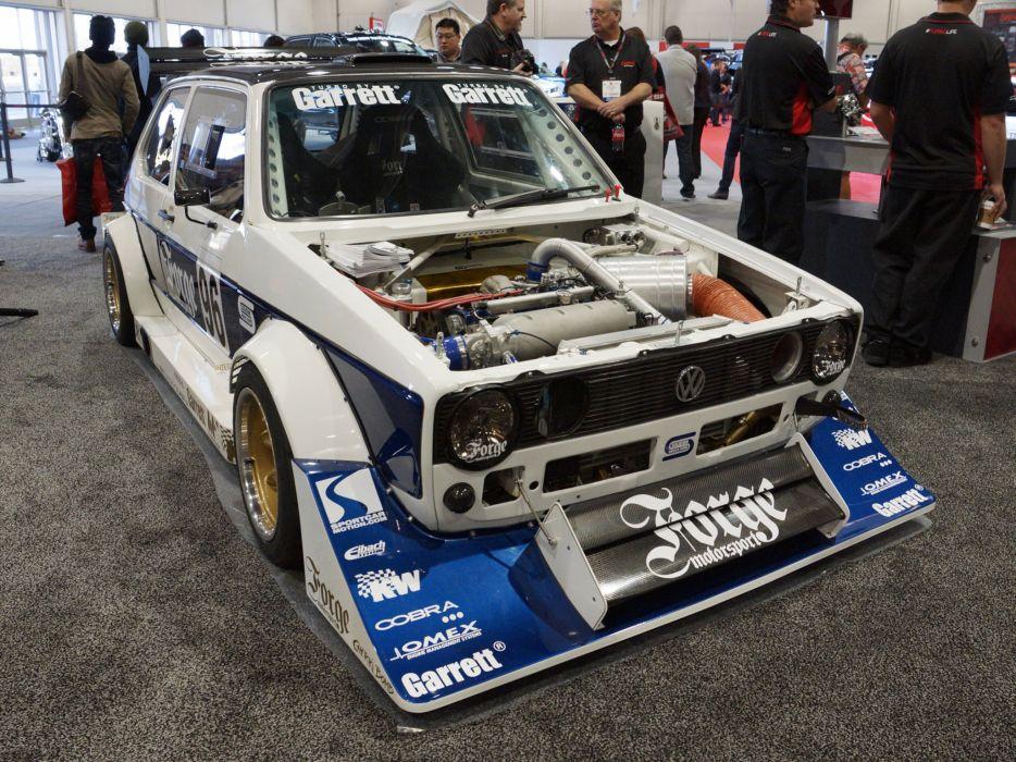 2013 Volkswagen Golf Forge-Motorsport race racing engine     g wallpaper