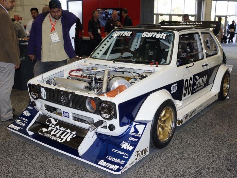 2013 Volkswagen Golf Forge-Motorsport race racing engine r